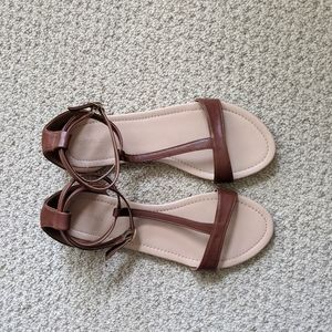 F21 Strappy Sandals
